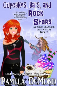 Book cover for Annie Graceland Cozy Mystery, #7