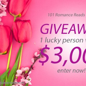 $3,000 Big Romance Author Spring Giveaway