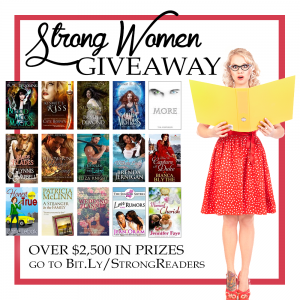 Strong Women Books = Big Money Giveaway!